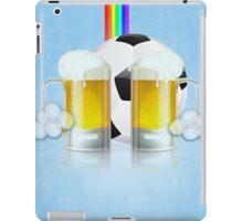 Beer Glass and Soccer Ball 3 iPad Case/Skin