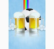 Beer Glass and Soccer Ball 3 Unisex T-Shirt