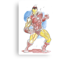 Tiny Ironman -- Tiny Avenger Series Canvas Print