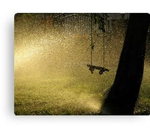 summer evening dreaming Canvas Print