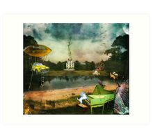 To Wish Impossible Things (art, poetry & music) Art Print