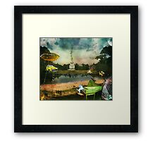 To Wish Impossible Things (art, poetry & music) Framed Print