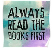 Always read the books first... Poster
