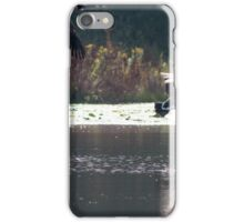 Geese in Flight iPhone Case/Skin