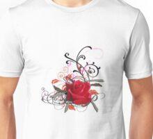 Vignette rose Unisex T-Shirt