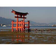 Torri Gate  Photographic Print
