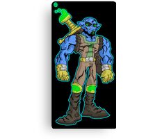 goblin warrior... Canvas Print