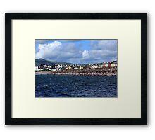 Irish Seaside Village Co Kerry Framed Print