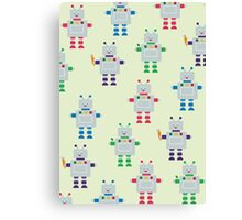 ROBOT PATTERN Canvas Print