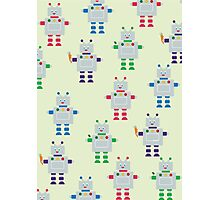 ROBOT PATTERN Photographic Print
