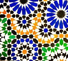 Old Moroccan Tiles  by focusonphotos