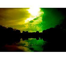 Rasta Clouds Photographic Print