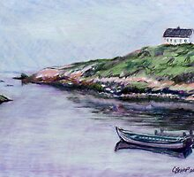 Lone Home at Peggy's Cove by Carolyn Bishop