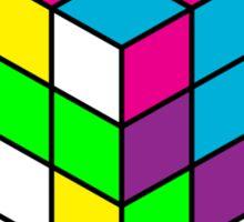 Rubik's Cube Chaos Sticker