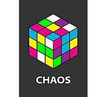 Rubik's Cube Chaos Photographic Print