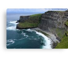 Cliffs of Moher View Canvas Print
