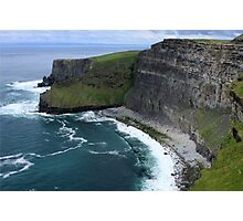Cliffs of Moher View Photographic Print