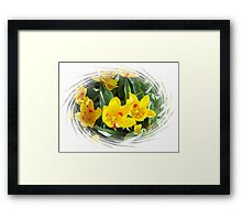 Spring Tulips For Mom Framed Print
