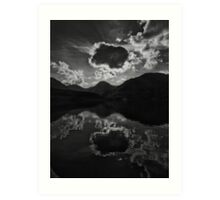 Dramatic Sky over Loch Lomond Art Print