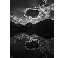 Dramatic Sky over Loch Lomond Photographic Print