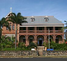 The James Cook Museum in Cooktown  by minniemanx