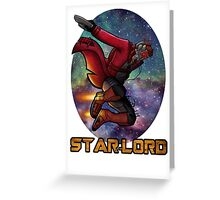 Guardians of the Galaxy-Starlord Greeting Card