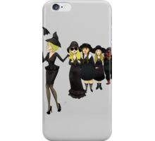 On Wednesdays We Wear Black iPhone Case/Skin