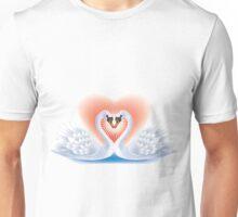Swans heart Unisex T-Shirt