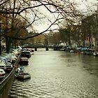 Amsterdam Canal by longaray2