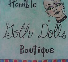 horrible goth dolls boutique by scaroby