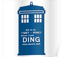 It goes ding when there's stuff. Poster