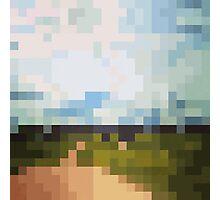 Digital Landscape #6 Photographic Print