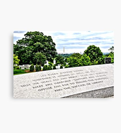 The Price of Liberty Canvas Print