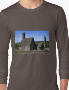 St Kevins Church And Round Tower Long Sleeve T-Shirt