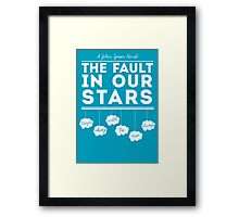 Maybe okay will be our always. Framed Print