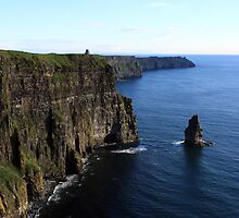 Cliffs of Moher by aidan  moran