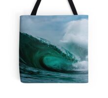 Teal Toned Tyrant Tote Bag