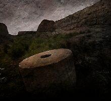 An Ancient City on Jingtai Gobi  Desert 01 by Zhaomin