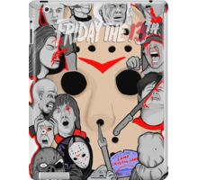 Friday the 13th collage iPad Case/Skin