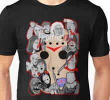 Friday the 13th collage Unisex T-Shirt