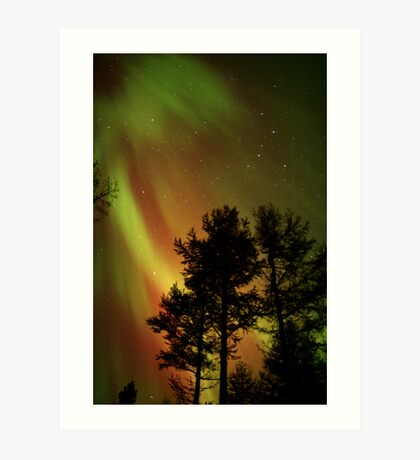 Aurora Borealis - The Northern Lights Art Print