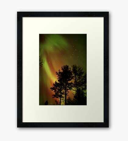 Aurora Borealis - The Northern Lights Framed Print