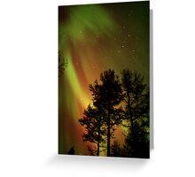 Aurora Borealis - The Northern Lights Greeting Card