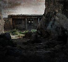 An Ancient City on Jingtai Gobi Desert 06 by Zhaomin