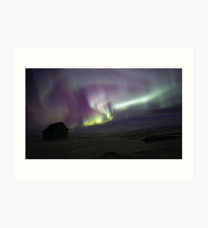 Iceland Aurora Art Print
