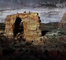 An Ancient City on Jingtai Gobi Desert 09 by Zhaomin