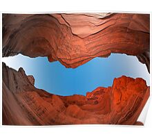 Red Canyon - Negev Poster