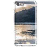 Rising Sun on Canal Sarmiento  iPhone Case/Skin