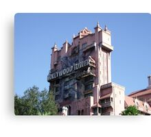 The Twilight Zone Tower of Terror Canvas Print