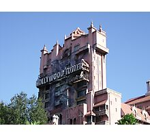 The Twilight Zone Tower of Terror Photographic Print